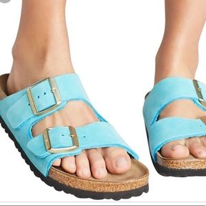 Birkenstock Arizona Turquoise sandals 37 6